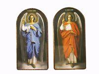Archangels Michael and Gabriel Orthodox russian icon Saint Michael Saint Gabriel