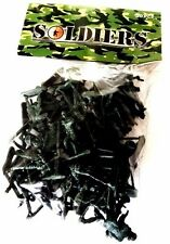 PLASTIC TOY SOLDIERS ARMY COMBAT PLATOON STORY PARTY LOOT GREEN   50 PACK
