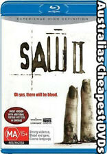 Saw 02 Blu-ray NEW, FREE POSTAGE WITHIN AUSTRALIA