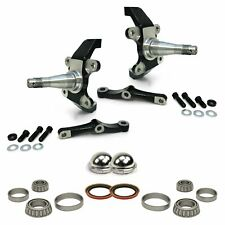 Pro Touring Dropped MII & Pinto Spindles with Bearings, Seals and Dust Caps