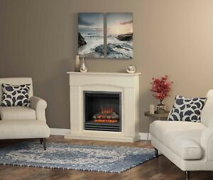 """Be Modern 44"""" Linmere Electric Fireplace Suite"""