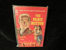 The Panic Button Paperback Book Ace D438 Charles Fogg 1960