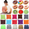 Donut Fruit Pillow Chair Solid Cushion Plush Seat Pads Garden Kitchen Home Patio