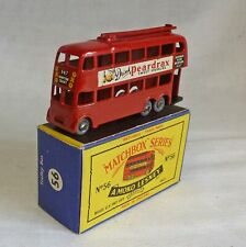 "Moko Lesney Matchbox MB56a Trolley Bus with GPW & ""Peardrax"" Decals"