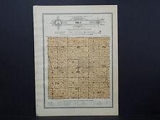 Illinois, Bureau County Map, 1916 Township of Milo W16#99