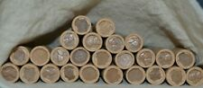 LOT OF 25 WHEAT CENT ROLLS / 1909-1958 / RARE COLLECTION / 1250 COINS