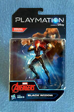 BLACK WIDOW FIGURE 6 INCHES TALL PLAYMATION MARVEL AVENGERS VIDEO GAME