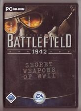 Battlefield 1942 Secret Weapons of WW2 Panzer Militär Armeen Flugzeuge ADDON PC