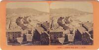 Cannes Francia Foto J.Andrieu Stereo Vintage Albumina Ca 1865-8