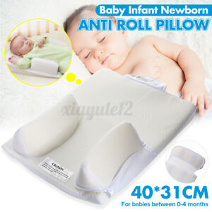 Infant Baby Side Sleep Pillow Support Anti-roll Newborn Cushion Portable