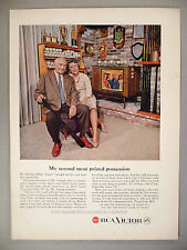 Casey Stengel for RCA Victor Television TV PRINT AD - 1959 ~~ New York Yankees