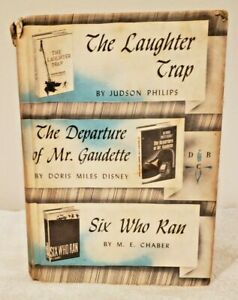Vintage Detective Book Club by Walter Black: 3 in 1 Novels (1964, Hardcover)