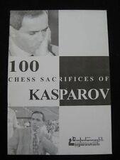 KASPAROV 100 CHESS Sacrifices; RUSSIAN Armenian WORL Champion; Gasparov Каспаров