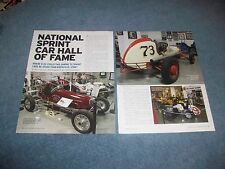 2012 Knoxville, Iowa Sprint Car Hall of Fame Profile Article Museum