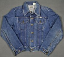 Vintage 70's Sedgefield Do-Nothing Made In USA Denim Trucker Jacket Mens Small