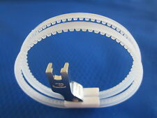 Teflon Foot Ring PVC Leather SLIPPERY FABRICS For Industrial Sewing Machines