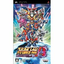 Used PSP Super Robot Taisen Wars A Portable Japan import