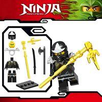 Ninjago Black Cole ZX Ninja Master of Spinjitzu Custom Lego Mini Figure Lloyd