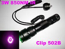 Uwe 502B 3W 850nm CREE Infrared LED IR Infra Red flashlight night vision