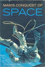 MAN S CONQUEST OF SPACE HBDJ X-15 GAGARIN MERCURY SHEPARD GLENN GEMINI APOLLO