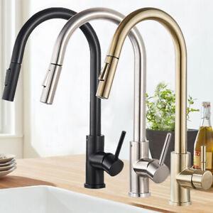 Miscelatore rubinetto cucina estraibile lavello monocomando doccetta alta canna