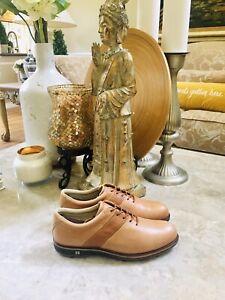 Ecco HydroMax Leather Golf Shoes Men Size US 6.5 EU 39 Waterproof