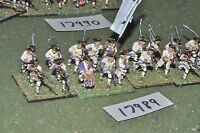 25mm 7YW / french - seven years war infantry 18 figures - inf (17989)