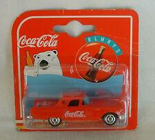 Die Cast COCA COLA CAR '57 FORD THUNDERBIRD Majorette RADIO GRILL Metal COKE NIB