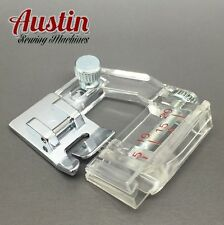 ADJUSTABLE Bias Binding Presser Foot Attachment - Snap-On Sewing Machine etc UK