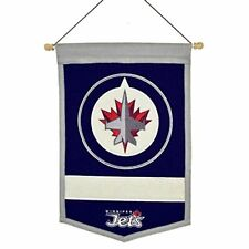 Winnipeg Jets Nhl Embroidered Wool Traditions 12x18 Banner Flag