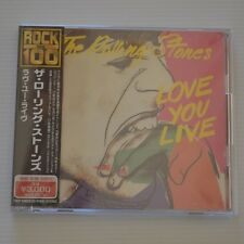ROLLING STONES - LOVE YOU LIVE - 2CD JAPAN 1999 PRESS