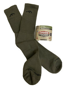 Military Darn Tough Vermont Tactical Boots Sock Flame Resistant Green Sz XL New