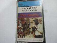 NAT KING COLE COLE ESPANOL CASSETTE    ALBUM TAPE