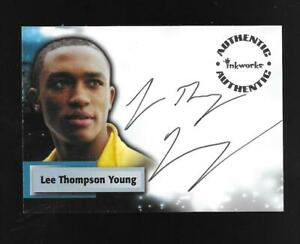 Smallville Season Five autograph card A38 Lee Thompson Young - Victor Stone