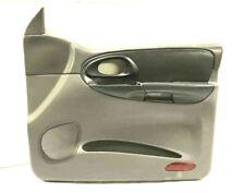2003 TRAILBLAZER PASSENGER SIDE FRONT DOOR TRIM PANEL W/BUTTONS RH Shale/Pewter