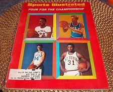 Sports Illustrated  March 16 1970 Bob Lanier, Dan Issel , John Vallely, Jimmy