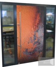 Schuco ADS 75.SI flush outer - rusty door effect + 5 point locking system