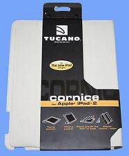 TUCANO (DESIGN miland ITALIA) Cornicione ECO PELLE CASE PER IPAD 2 & iPad 3-NUOVO