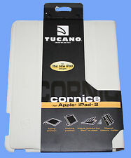 TUCANO (design miland Italie) corniche eco étui en cuir pour iPad 2 & iPad 3-NEUF