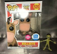 Funko POP #520 Flocked Bullseye Toy Story Funko POP Exclusive In Hand BNIB
