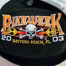Bike Week 2003 Daytona Beach Bullet Cap Hat Florida NEW
