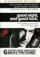 Good Night, And Good Luck - Edward R. Murrow ~ DVD WS B&W ~ FREE Shipping USA