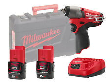 "MILWAUKEE 12V FUEL IMPACT WRENCH 3/8"" - M12CIW38 - 2.0AH PACK"