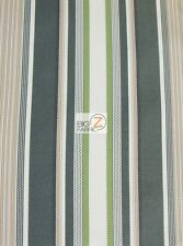 OXFORD STRIPE OUTDOOR CANVAS WATERPROOF FABRIC BY THE YARD ANTI UV FURNITURE Part 71