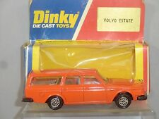 "DINKY / POLISTIL MODEL No180  VOLVO 265 DL ESTATE CAR ""ORANGE VERSION"" VN MIB"