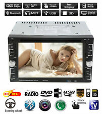 """Double 2Din 6.2"""" Car Stereo DVD CD MP3 Player HD In Dash Bluetooth TV Radio Top!"""
