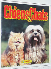 ALBUM VIERGE PANINI CHIENS ET CHATS 1997 DOGS CATS EMPTY LEER NEUF FRANCE