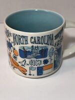 Starbucks Mug Been There Series Collectible North Carolina NC Color 14 Oz - 2019