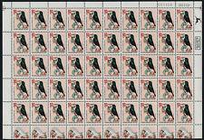 Israel 1137 Sheet MNH Birds, Palestine Sunbird
