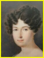 PIERRE AIME DEMANGE (1802-1853) STUNNING MINIATURE DATED 1826